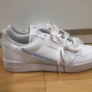 NWT Adidas Holographic Continental 80 Sneakers
